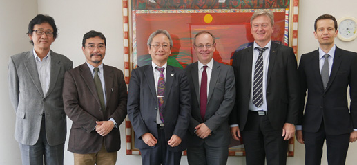 Meeting with Executive Vice President Ogawa
